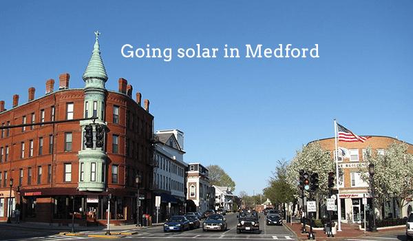 solar panels medford