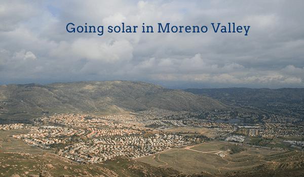 2017 Cost Of Solar Panels In Moreno Valley Ca Energysage