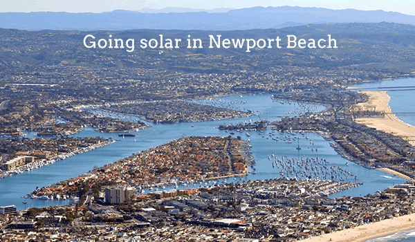 solar panels newport beach