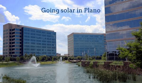 solar panels plano