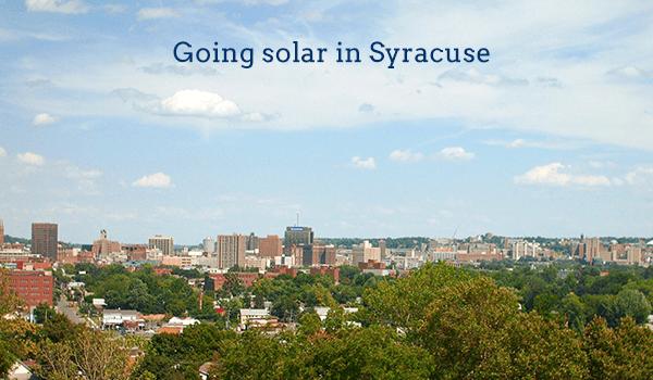 solar panels syracuse