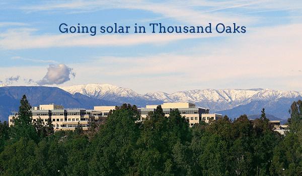 solar panels thousand oaks