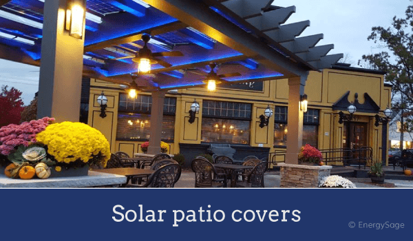 Attrayant Solar Patio Cover Gazebo