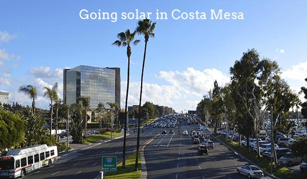 solar panels costa mesa