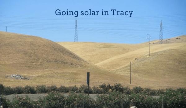 solar panels tracy
