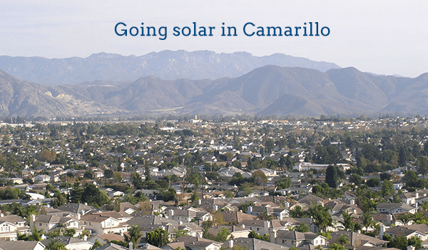 solar panels camarillo