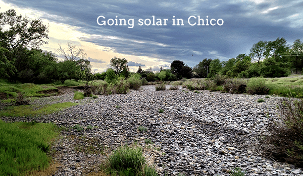 Cost of Solar Panels in Chico, California