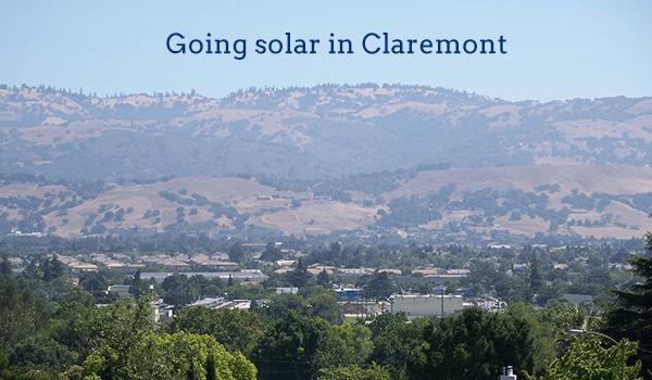 solar panels claremont