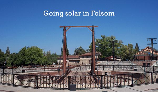 solar panels folsom