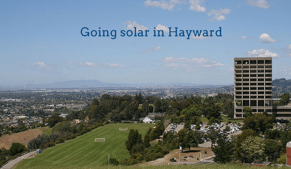 solar panels hayward