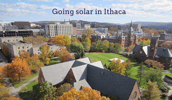 solar panels ithaca