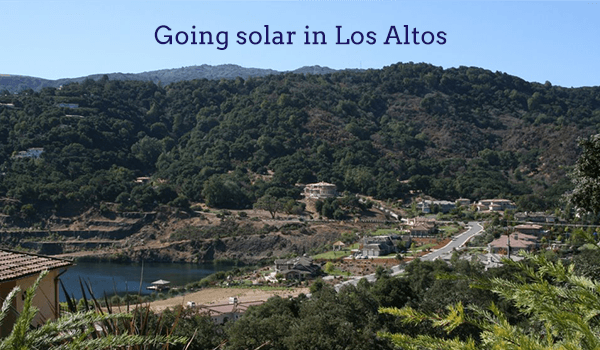 solar panels los altos