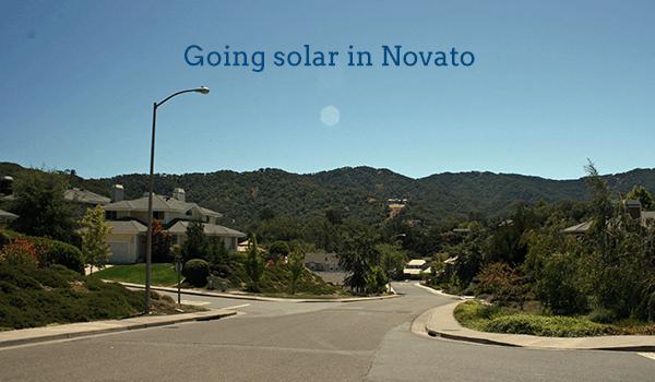 solar panels novato