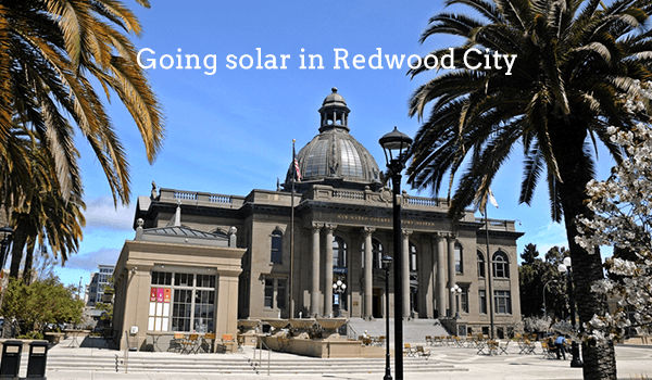 solar panels redwood city