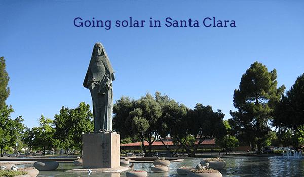 solar panels santa clara