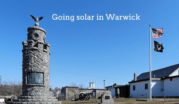 solar panels warwick
