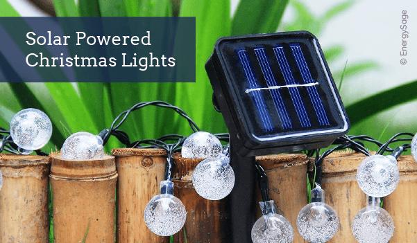 solar christmas lights