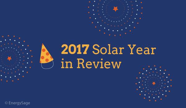 solar milestones 2017