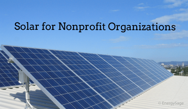 Solar for Nonprofits: Benefits, Financing Explained | EnergySage