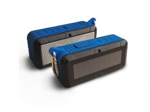 solar powered bluetooth speaker