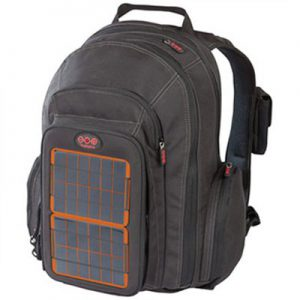 Voltaic solar panel backpack