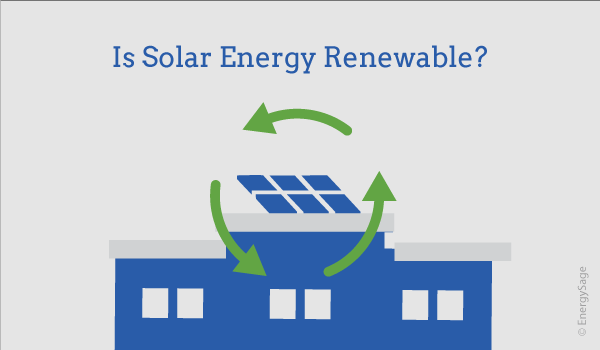 solar energy renewable or nonrenewable