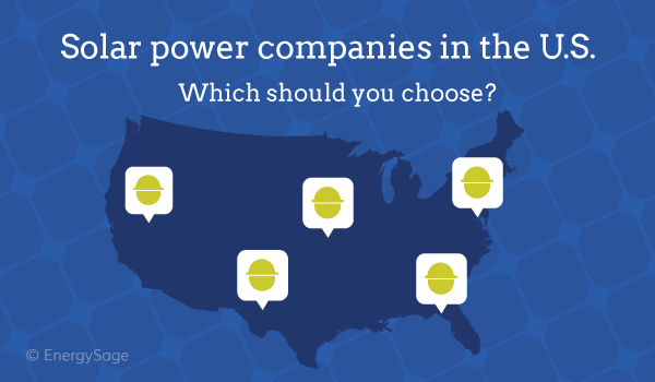 solar power companies United States