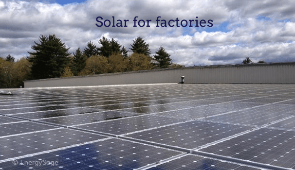 Do Solar Panels Make Sense for Factories in 2019? | EnergySage