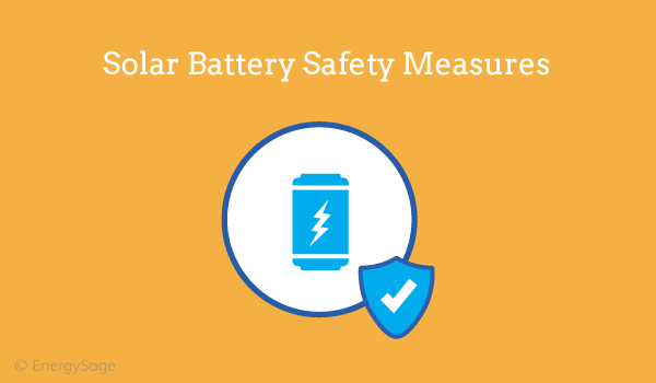 solar battery safety