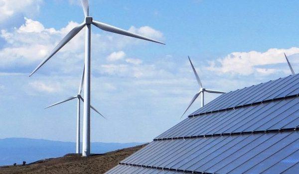 solar and wind renewable energy