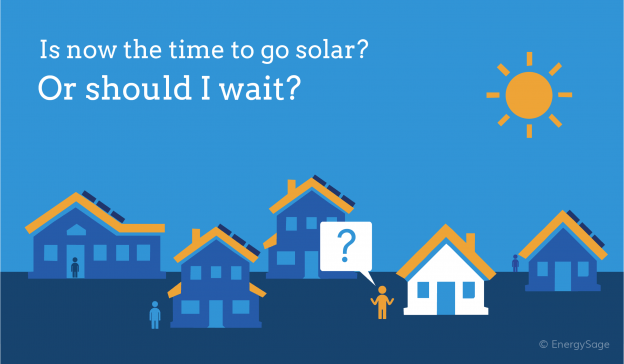 buy now or wait for solar
