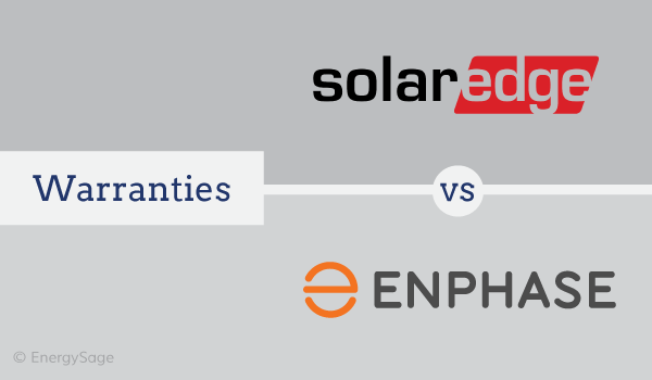 solaredge warranty vs enphase warranty