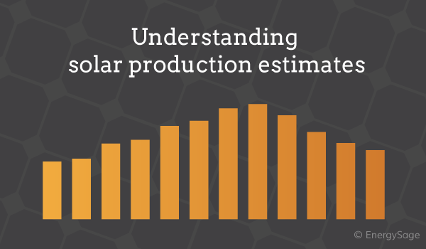 solar production estimate
