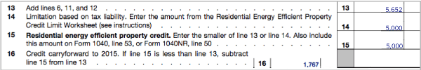 form 5695 instructions