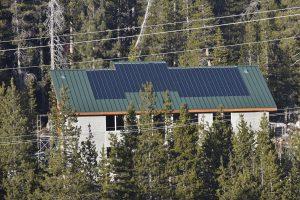 miasole solar panels on metal roof