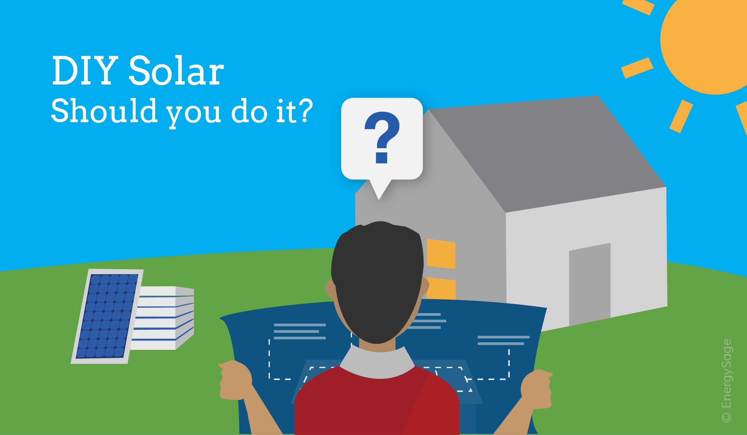 DIY Solar Pros and Cons: Does it Make Sense for You? | EnergySage