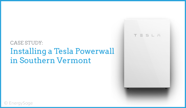 case study: tesla powerwall installation with green mountain power in  vermont