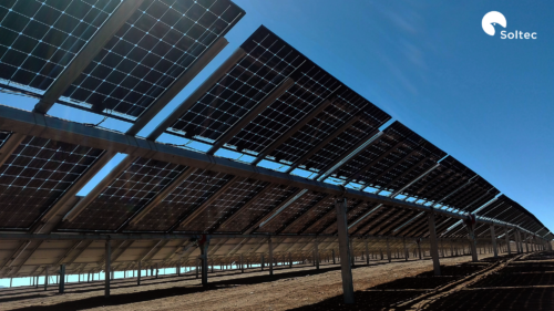 ground mounted bifacial solar panels
