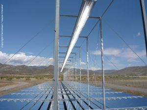 concentrated solar power fresnel collector