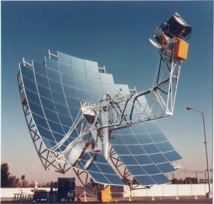 parabolic dish concentrated solar power