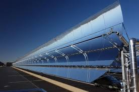 parabolic trough concentrated solar power