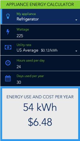 electricity load calculator