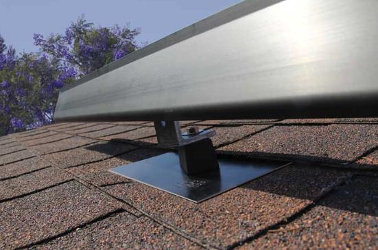 asphalt shingle solar panels