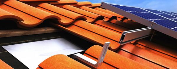 clay tile solar panels
