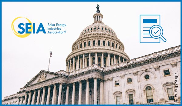 solar shines on the hill SEIA