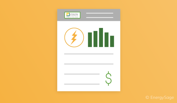 how to read sce electric bill