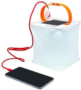 luminaid solar phone charger and lantern